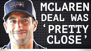 Ricciardo Had Meetings with McLaren - Hulkenberg Welcomes Ricciardo - McLaren Has Two Open Seats