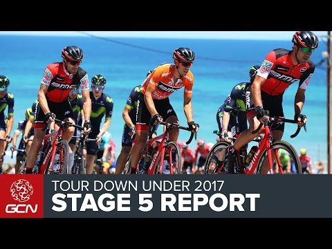 Tour Down Under Stage 5 Race Report