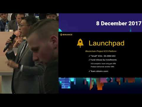 Cryptospace Moscow. Ted Lin (Binance). The role of a crypto exchange and beyond