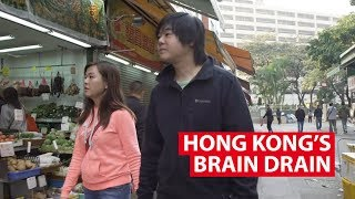 Hong Kong's Brain Drain: The Unhappy Generation Protests By Leaving