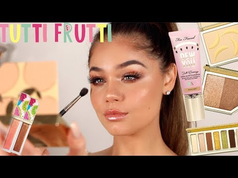 TOO FACED TUTTI FRUTTI COLLECTION | FULL FACE FIRST IMPRESSIONS | Blissfulbrii