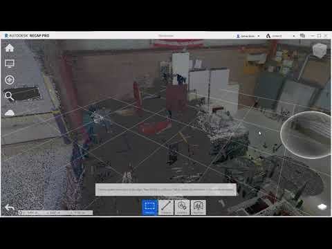 Setting the Origin of a Point Cloud in Autodesk ReCap
