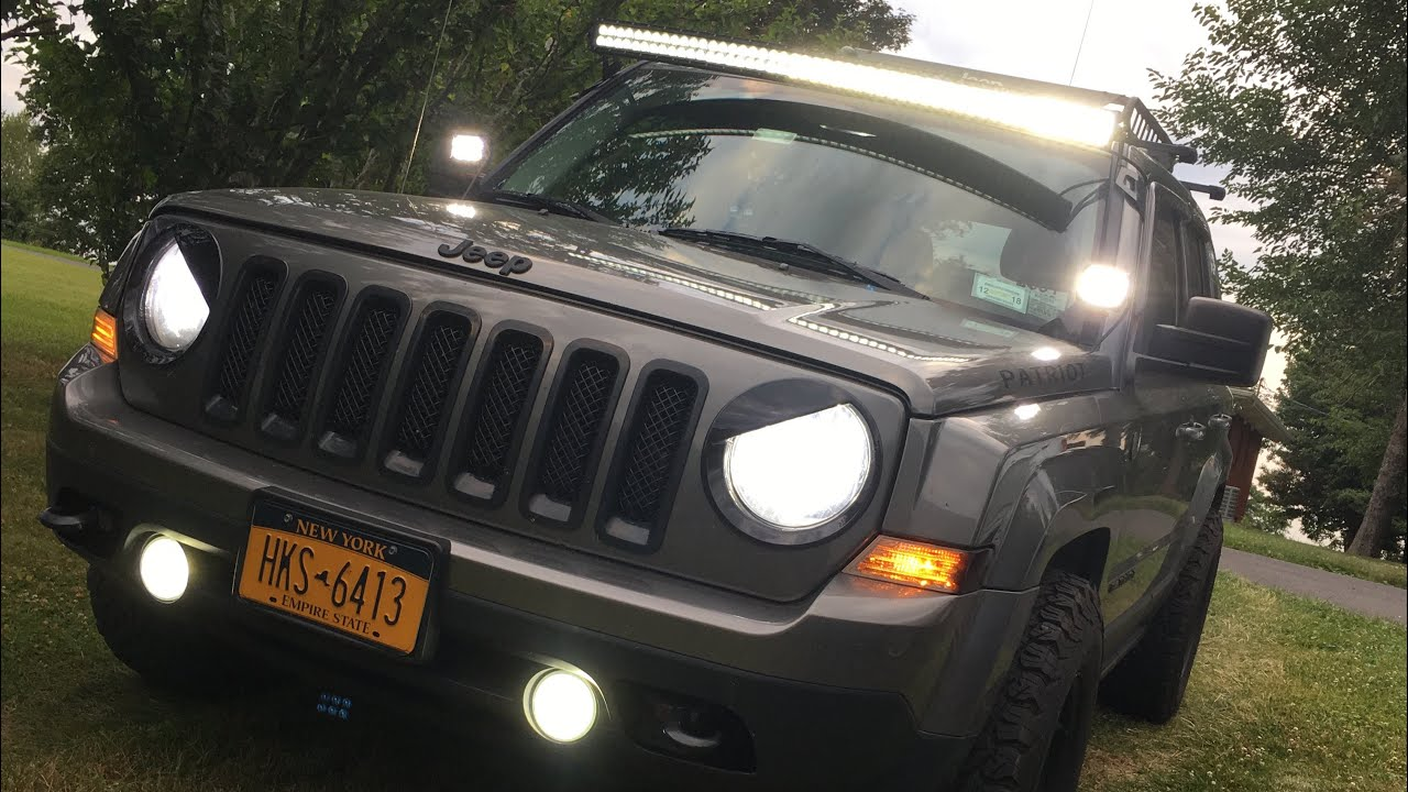 Jeep Patriot - LED Headlight Upgrade/Installation
