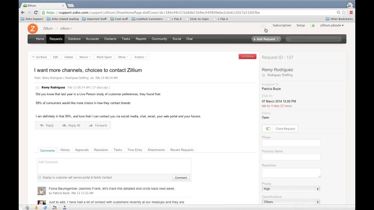 Zoho Support Reviews: Overview, Pricing and Features