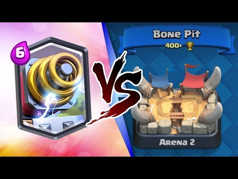 Thumbnail: Clash Royale | SPARKY TROLLING ARENA 2! | INSANE LEGENDARY TROLL DECK!
