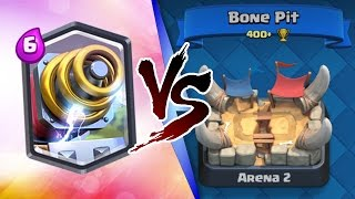 Clash Royale | SPARKY TROLLING ARENA 2! | INSANE LEGENDARY TROLL DECK!