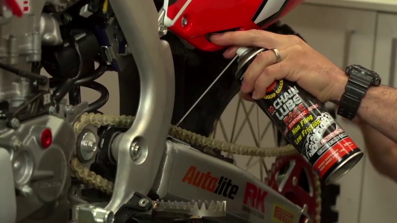 Penrite - Motorcycle Chain cleaning/oiling