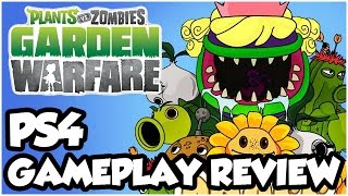 Plants vs. Zombies Garden Warfare PS4 - FIRST GAMEPLAY & REVIEW!! (PS4 Walkthrough 1080p HD)