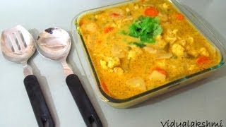 South Indian Mixed Vegetable Korma