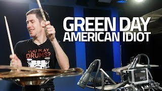 Green Day - American Idiot - Drum Cover (@ Drumeo Studios!)