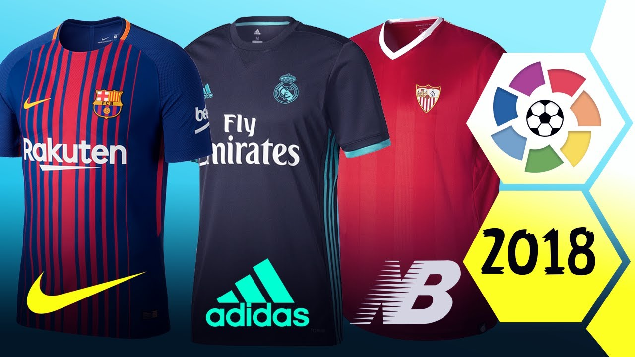 New la liga kits for season 201718 youtube new la liga kits for season 201718 stopboris Gallery