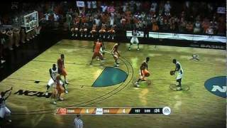 NCAA Basketball 09 Tournament Round 1- Vols vs Cowboys 1st half