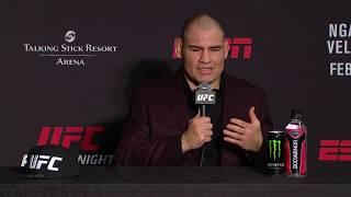 UFC Финикс: Главные моменты пресс-конференции