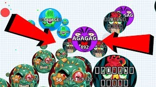 Agar.io Rush Dominating Boss Mode Best Wins/Fails Best Moments Agario Mobile Gameplay