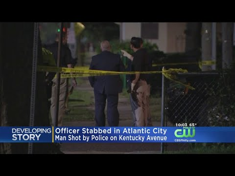 Atlantic City Officer Stabbed, Man Shot By Police, Atlantic County Prosecutor's Office Says