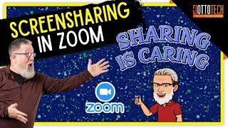 Screensharing in Zoom - Screen-share Tutorial