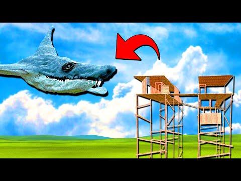 Aircraft Shark Vs บ้าน