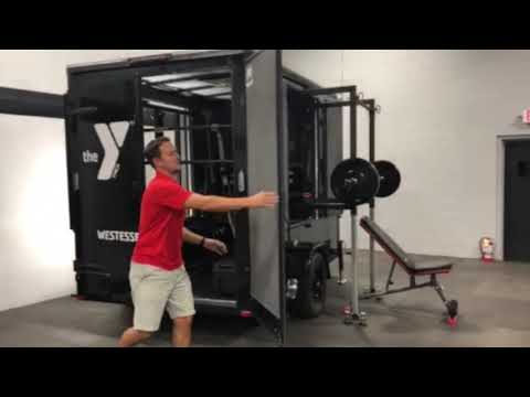 Mobile Fitness Equipment - Portable Gym - TrailerFit