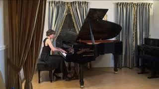 Eva Laas (piano) - Vs. Pozdejev - Choreographic Sonatina