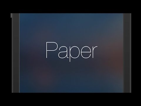 Download Overview: Paper - stories from Facebook (for iOS) Snapshots