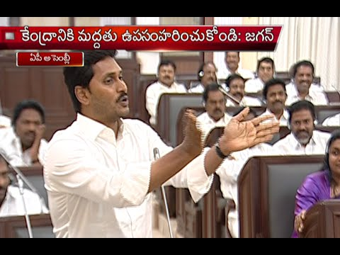 YS Jagan Funny Speech About TDP And BJP In AP Assembly