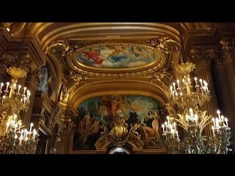 Tour of the Palais Garnier, Paris Opera House
