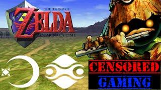 The Legend of Zelda Ocarina of Time Censorship - Censored Gaming Ft. TheBlackLink