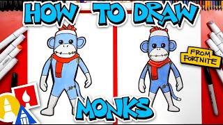 How To Draw Monks From Fortnite