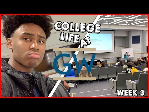 THE LIFE OF A COLLEGE STUDENT AT GWU // WEEK 3