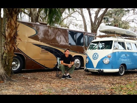 Total Cost toTravel for One Year by RV & 62 VW Bus ( van life, rv living, bus conversion )