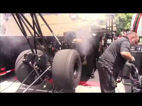 NHRA Top Fuel And Funny Car Warm-ups (Throttle Whacks)