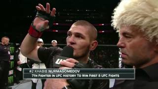 Khabib Nurmagomedov dominated at UFC 205 at remains undefeated at 24-0. Nurmagomedov defeated Michael Johnson by submission in the third and final ...