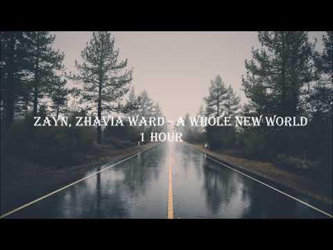 ZAYN, Zhavia Ward - A Whole New World 1 HOUR LOOP