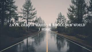 ZAYN, Zhavia Ward - A Whole New World 1 HOUR LOOP