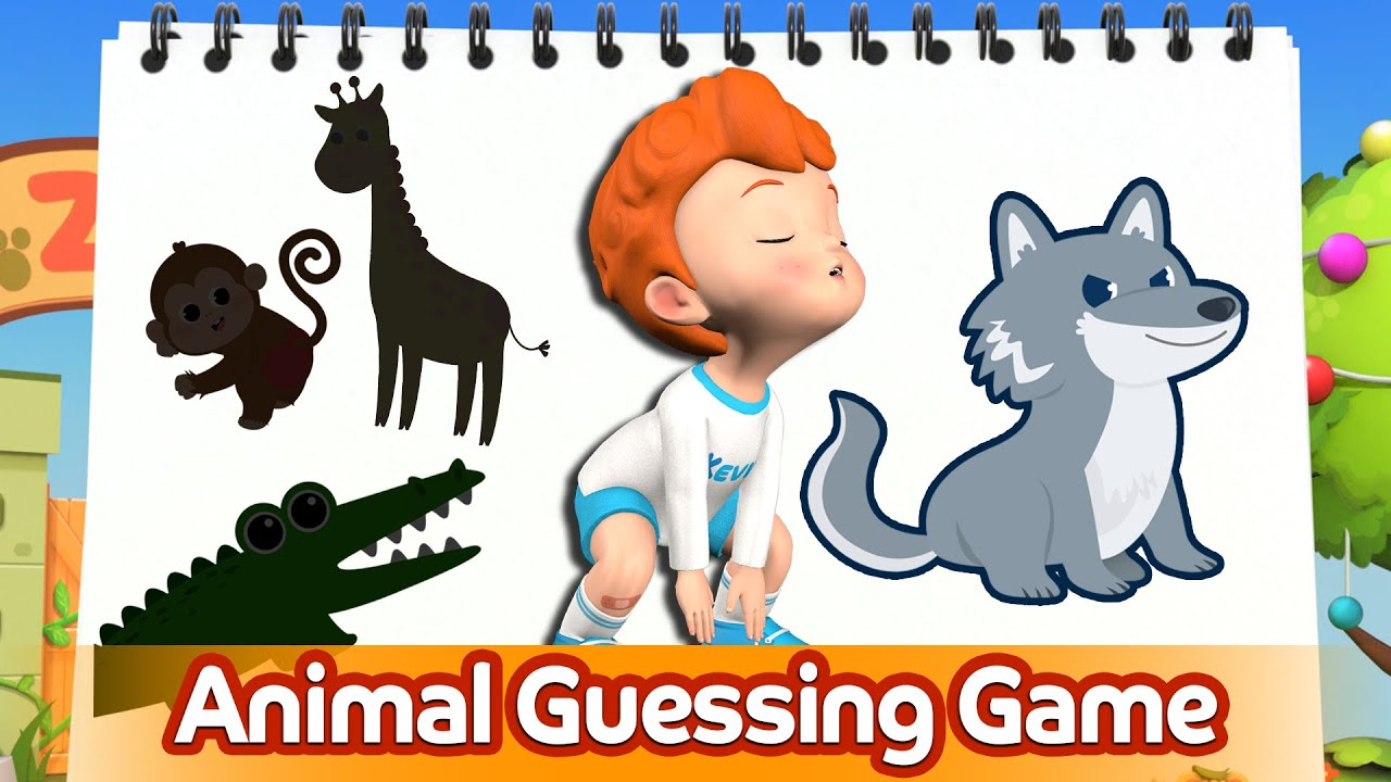Animal Guessing Game Song | Wild Animals