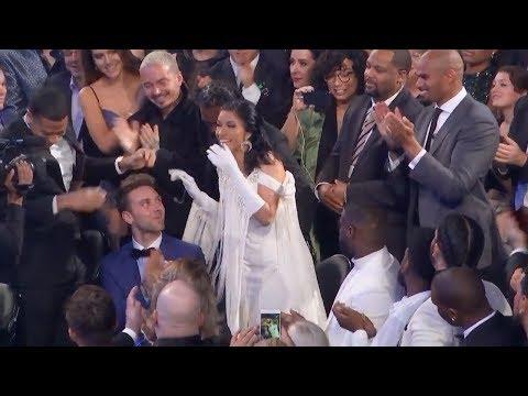 Cardi B Reacts To Winning Best Rap Album | 2019 GRAMMYs