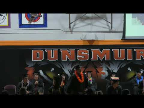 Dunsmuir High School Class of 2020 Graduation Ceremony