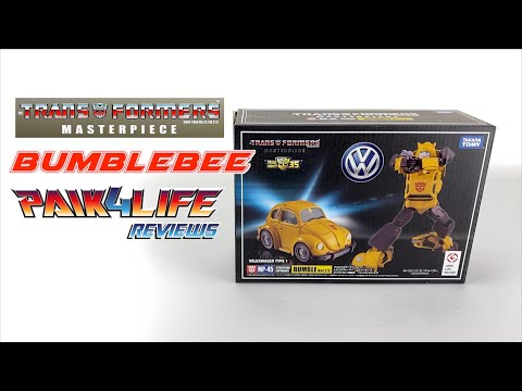 Transformers Review: Takara Tomy Masterpiece MP-45 Bumblebee V2.0 // P4L Reviews