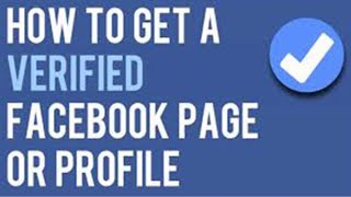 How to get verification tick ✅ on your Facebook page or profile