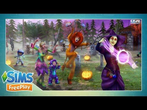 The Sims FreePlay: NOITE DOS MONSTROS DE DOCE | Nova Atualização #76 Pt. 1