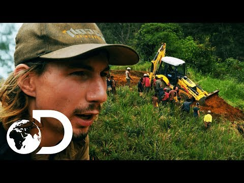 Parker Almost Drives Off Cliff! | Gold Rush: Parker's Trail