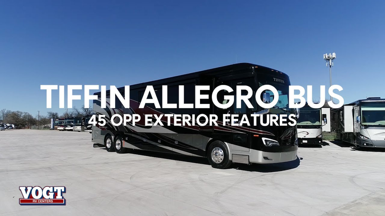 Tiffin Allegro Bus 45 OPP Exterior Walkthrough