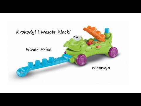 Krokodyl I Wesołe Klocki Od Fisher Price - Videorecenzja