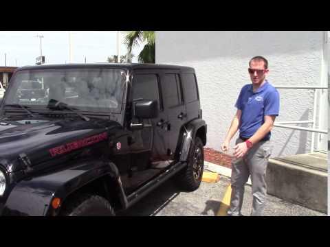 Nick Martin with Rubicon at Jim Browne Chrysler Jeep