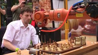 GM Grischuk - Robot. Russia - Germany Robots batalie
