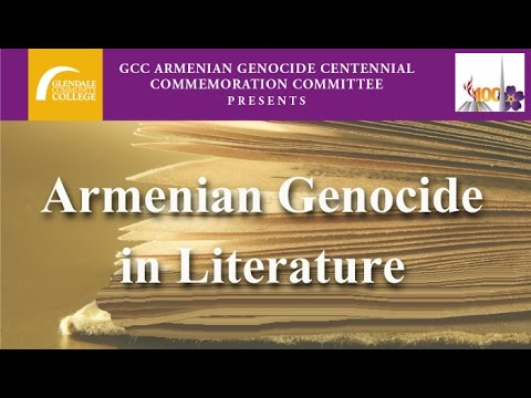 "GCC Presents ""Armenian Genocide in Literature"" Lecture"