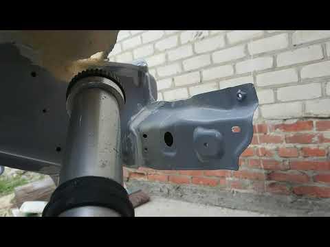 Ремонт подвески, пескоструй и Антикор днища на паджеро 3 часть 4 перезалив