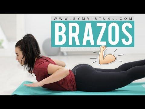 Eliminar grasa de la espalda | Tonificar brazos