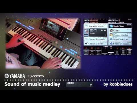Tyros 5: Wiener medley (Ensemble Voice edit demo) by robbiedoesNL