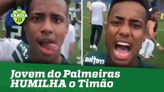 Zagueiro do Palmeiras HUMILHA Corinthians após título!